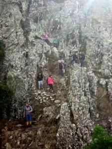 trekking mistico sulla cima del monte arcuentu